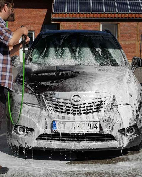 """Waschpark Göcke ab sofort mit neuem SB-Waschkonzept """"Richtig sauber – richtig gut!"""""""